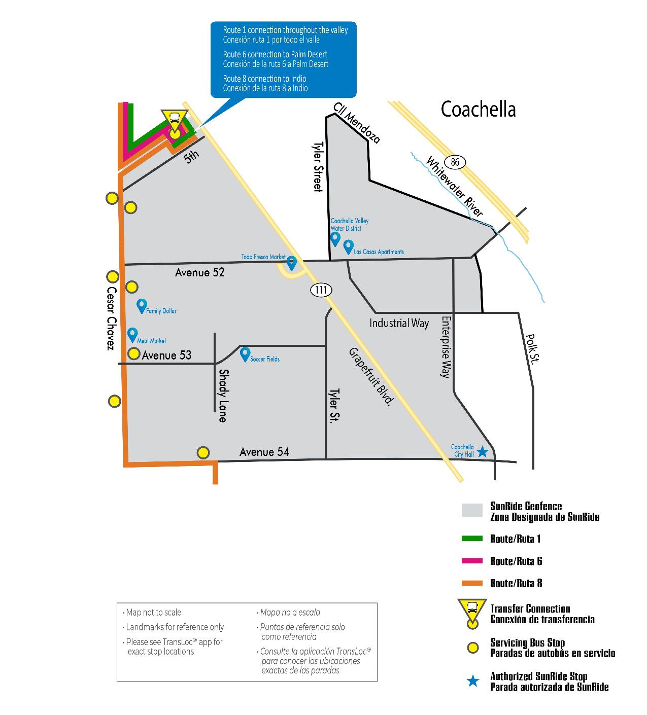 Coachella Map