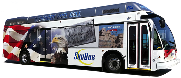 FC3 Hydrogen Fuel Cell Bus - Made in America