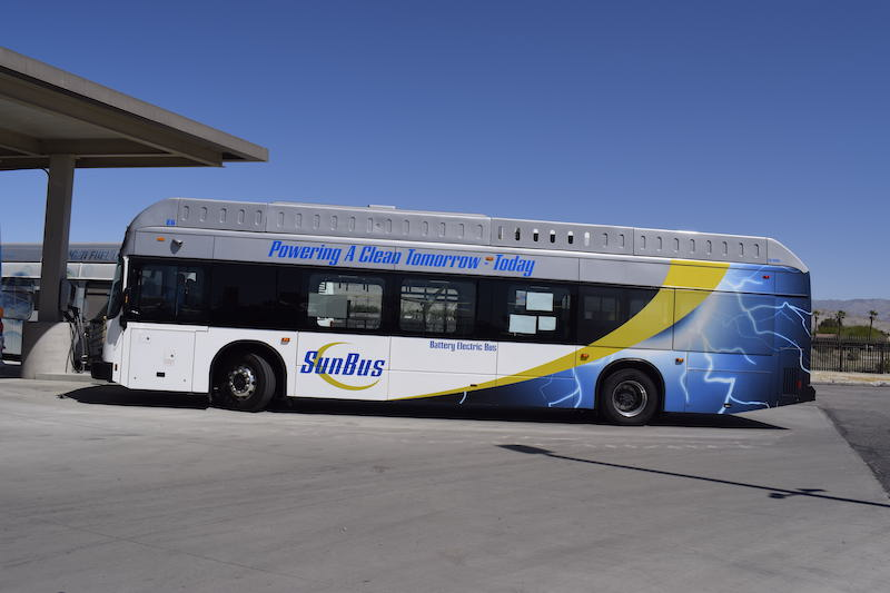 Battery Electric Fixed-Route Bus