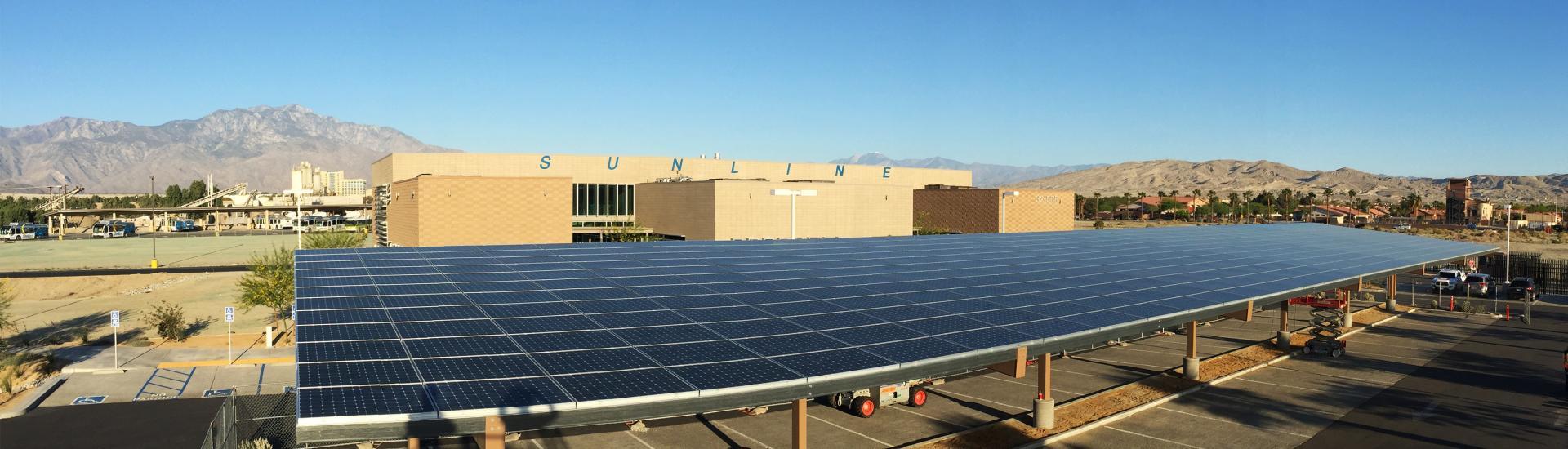 Admin Bldg Solar Panel