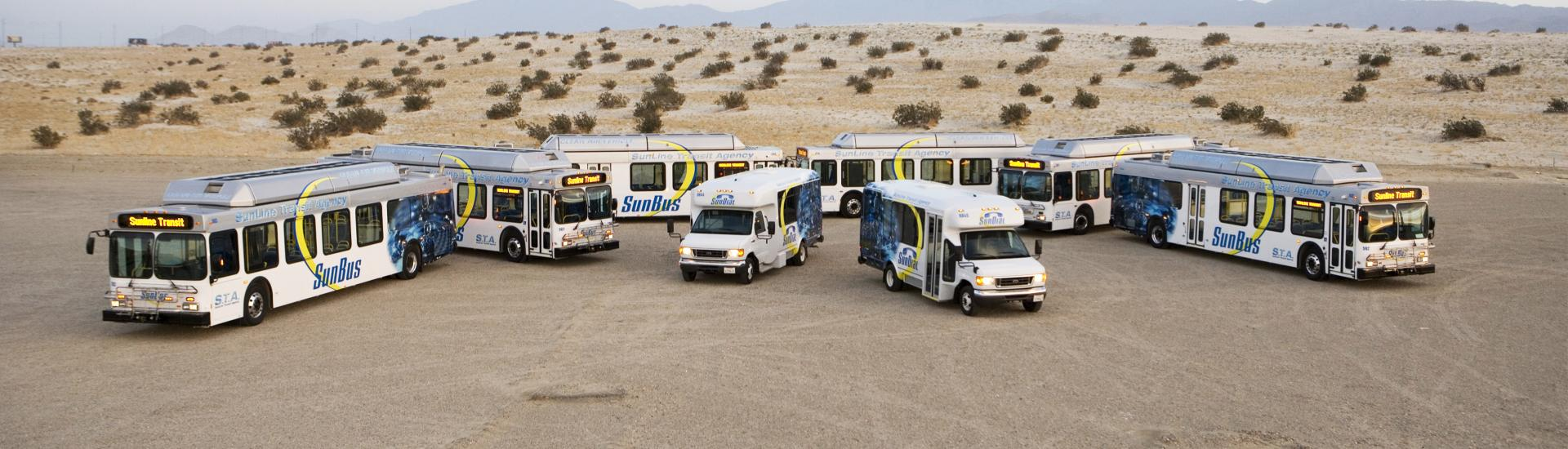 Clean CNG Fleet in the Desert