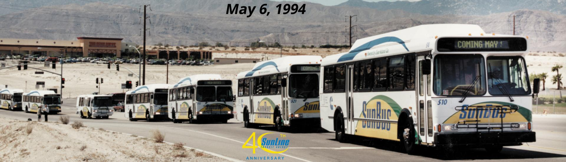 Complete CNG Roll-Out 6 May 1994