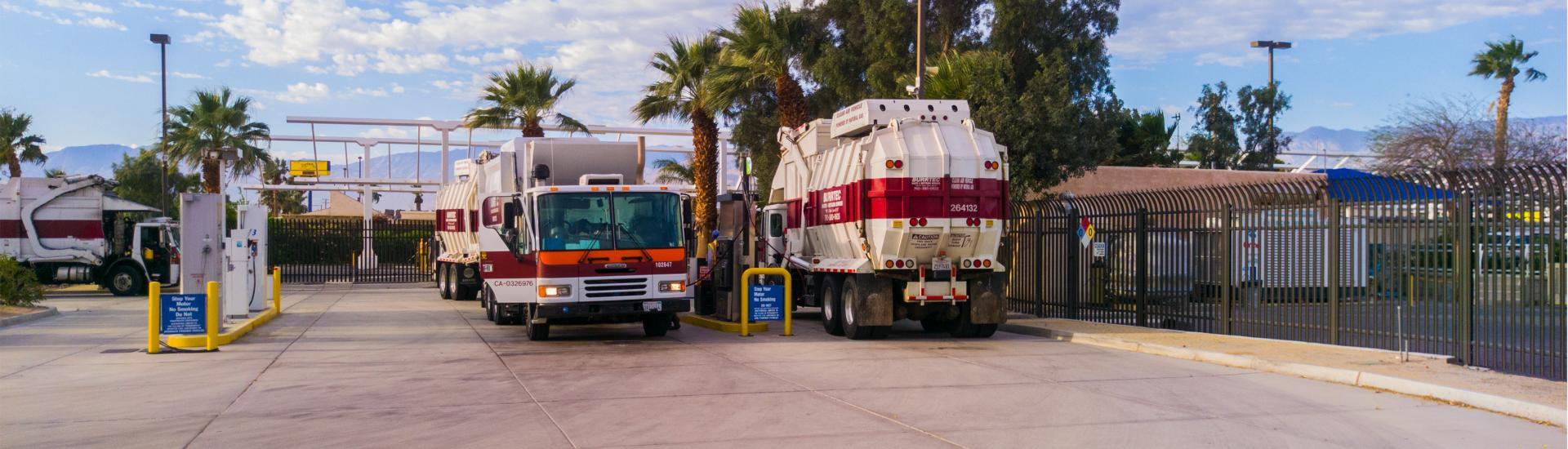 SunLine's Thousand Palms Fuel Station Serving Customers