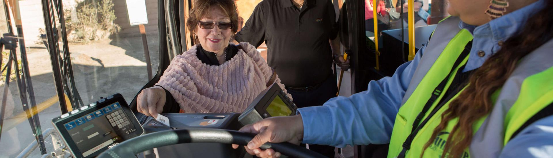 Seniors and Disabilities on SunLine Transit